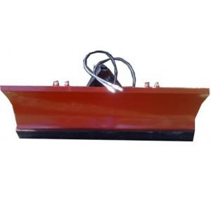 Schneeschild hydraulisch schwenkbar mit Anbauplatte Größe von 100 bis 250 cm