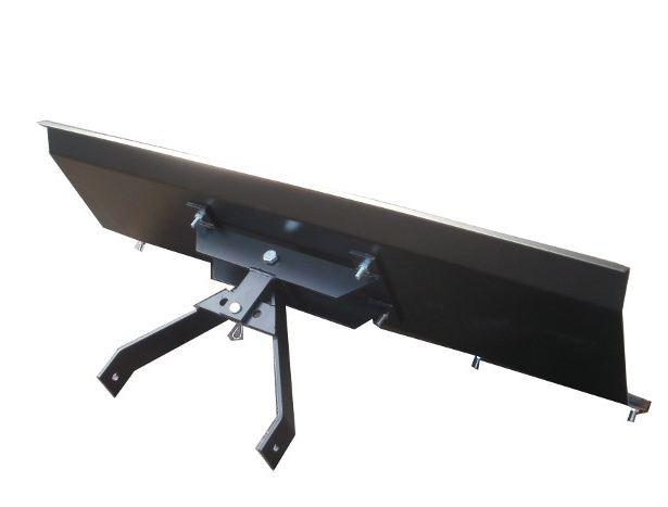 schneeschild gekantet mit universalhalterung verstellbar gr e von 100 bis 200 cm. Black Bedroom Furniture Sets. Home Design Ideas