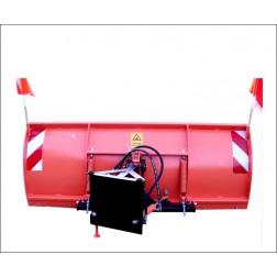 Schneeschild hydraulisch für Multicar, Unimog und Radlader M 25-26-27 /  Größe 200 cm bis 250 cm