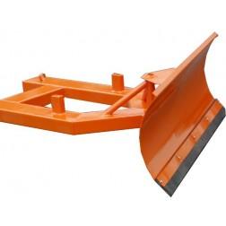 Universal-Räumschild für Gabelstapler und Radlader 2 Stufen verstellbar / Größe 100 bis 200 cm