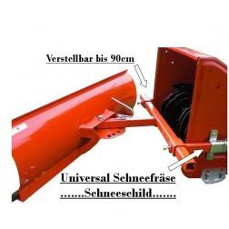 Schneeschild / Schneefräse Universal 100 cm